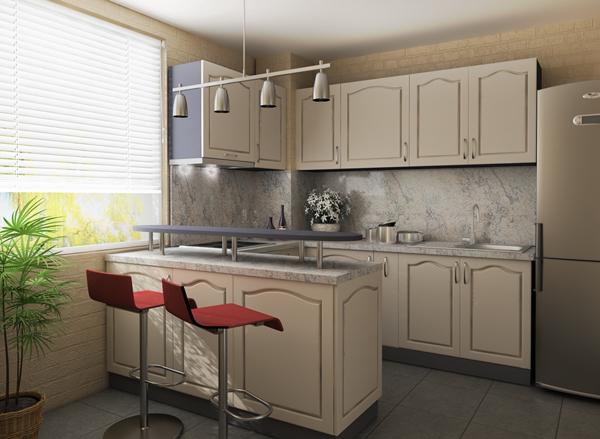 Резултат с изображение за кухненско обзавеждане бяло evrodom